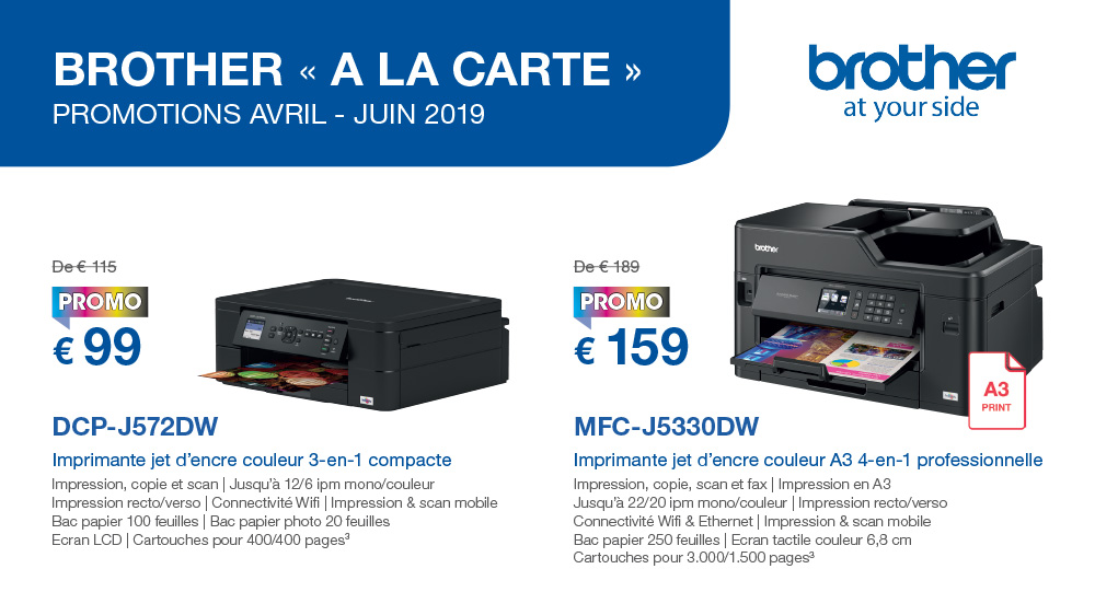 Promotions chez Brother!