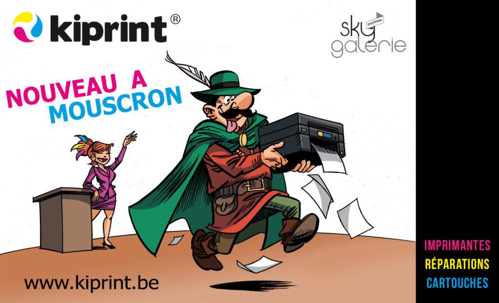 Kiprint ouvre à Mouscron!
